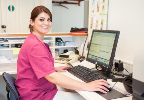 Ganimete, klinikassistent