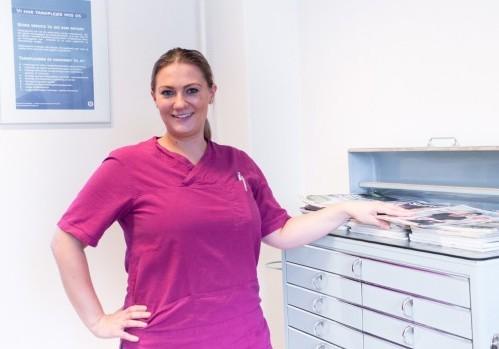 Trine, klinikassistent
